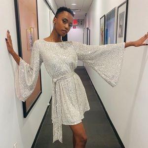 New JAY GODFREY Maggie Sequin Dress 6